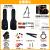 ファンタFender Squier SQ電気ベースAffinity VM J BASS 0371575 6-AFN Jタイプ-ブラック5弦