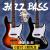 ジャズベース五弦PJベースJAZZ四弦電気ベベル0310760 0370505白