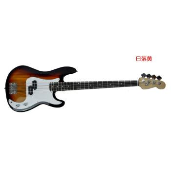 bass電気ベベ-スコース初心者電気ベベ-スセット注文落日黄(シングルバンド接続線)