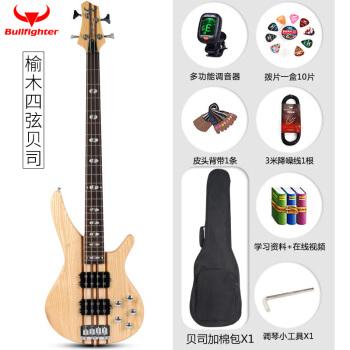 闘牛士(Bulfighter)の規格品である楡木電気ベースの四弦五弦ベースがスピーカーBASS四弦ベースに対応しています。