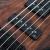 IBANEZは、ベーナ電気ベースベースベースのS電気ベベルSプリントによるSR 650 SR 670 SR 400 SR 370 E-ABS 5弦の復古プリントブラウン