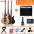 オリス(OLICE)電気ベース4弦5弦ベースセット初心者演奏専門のベース・ベース・ギター楽器はスピーカーB-2一体の4弦でプレゼント+45 wエレクトリック・ベースのスピーカーに乗ることができます。