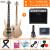 オリス(OLICE)電気ベース4弦5弦ベースセット初心者演奏専門のベース・ベース・ギター楽器はスピーカーB-2一体の電気ベースに乗ることができます。5弦プレゼント+45 wエレクトリック・ベースのスピーカーです。