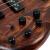IBANEZは、バーナ電気ベースベースベースのS電気ベベルSプリントによるSR 650 SR 670 SR 500 SR 400 SR 370 E-ABSヴィンテージプリントブラウン