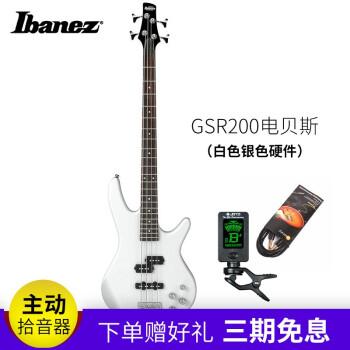 Ibankez依班娜主动集音器电气ベ-スGSR 210电贝司22品BASS GS 2 00_PW(ホワイトシルバーハードウェア)